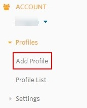 Add Profile