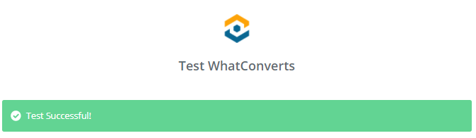 Test WhatConverts