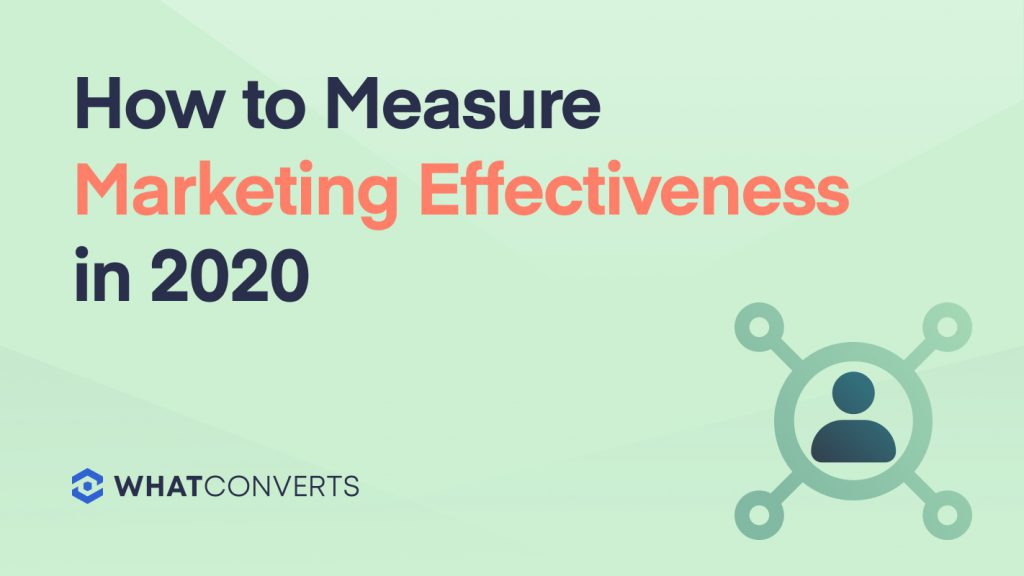 How to Measure Marketing Effectiveness in 2020