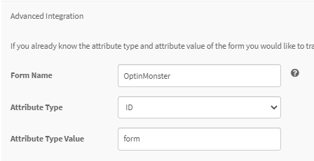 OptinMonster Form ID